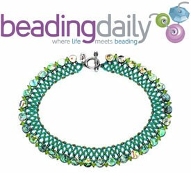 Bead necklace pattern - Arts and crafts ideas : home creative craft